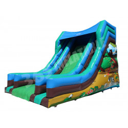 15ft Platform Event Slide Woodland